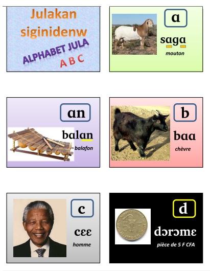 Dioula alphabet01